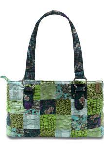 Bolsa Giulianna Fiori Paige Orchid Em Patchwork Original