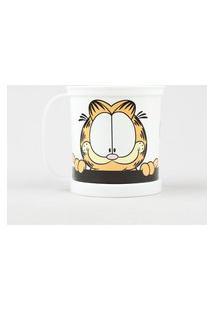 Caneca Garfield Com Alça Branca