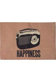 Jogo Americano 33 X 48 - Retro Photo - Happiness