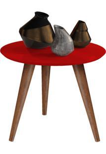 Mesa Lateral Retrô Cissa - Vermelho - Compre Aqui
