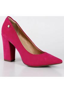 44b5d75b0f Marisa. Scarpin Com Salto Pink 211012bai Feminino ...