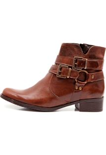 Bota Elite Country Carmine Fossil Marrom