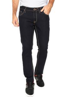 Calça Jeans Volcom Skinny Lisa Azul-Marinho