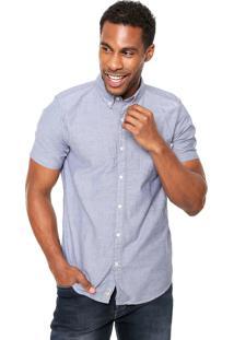 Camisa Timberland Slim Azul