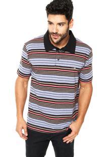 cf23a38e88 ... Camisa Polo Quiksilver Stripey Two Listrada