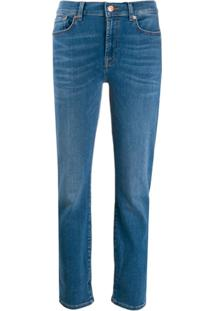 7 For All Mankind Calça Jeans - Azul