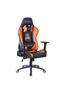 Cadeira Gamer Husky Kabum! Esports Black Orange - Hke-Bo
