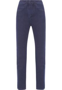 Calça Feminina Skinny Denim - Azul