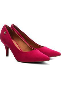 Scarpin Vizzano Bico Fino - Feminino-Pink