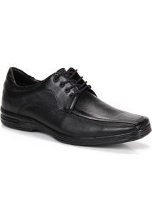 Sapato Social Conforto Masculino Metropolitan - Preto