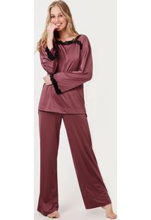 Pijama Joge Longo Rosa
