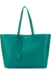 Saint Laurent Shopping Bag Saint Laurent - Verde
