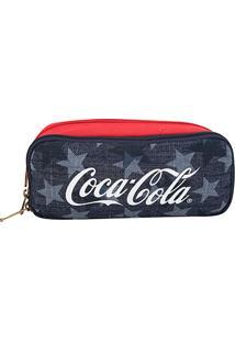 Necessaire Coca-Cola American Flag Feminina - Feminino