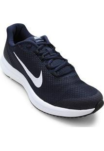 Tênis Nike Runallday Masculino - Masculino-Azul+Branco