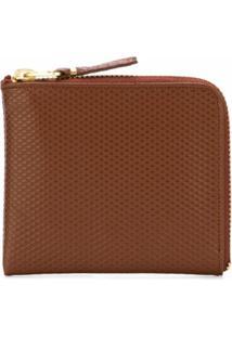 Comme Des Garçons Wallet Carteira 'Luxury Group' - Marrom