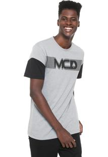Camiseta Mcd Especial Cinza/Preta