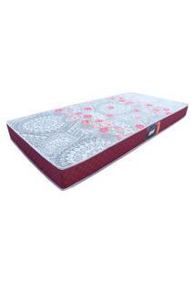 Colchão Solteiro Confort Soft Gazin Vinho 111750 14X78X188