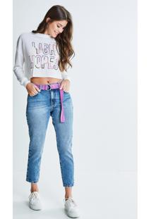 Blusa Cropped High Hopes
