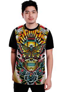 Camiseta Stompy Butterfly Preto