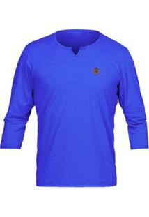 Camiseta Mormaii Proteção Solar Dry Comfort - Masculino-Azul