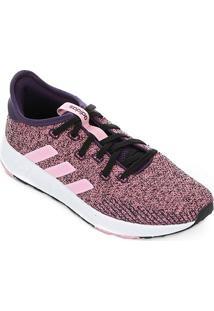 Tênis Adidas Questar X Byd Feminino - Feminino-Pink+Vermelho