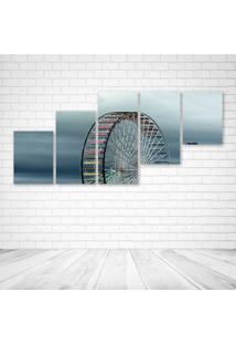 Quadro Decorativo - Ferris - Composto De 5 Quadros