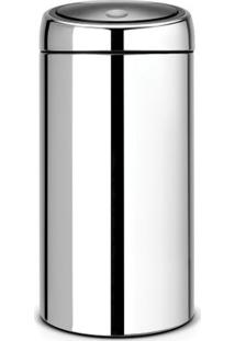 Lixeira Em Aço Inox Touch Bin 45 Litros Brabantia