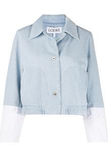 Loewe Jaqueta Cropped - Azul