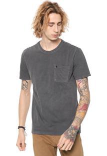 Camiseta John John Pocket Basic Cinza