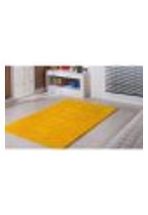 Tapete Classic Para Sala Amarelo 200 X 300 Cm