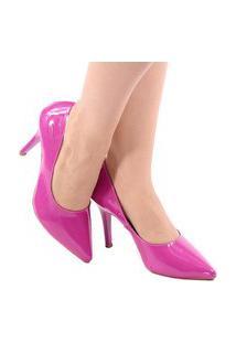 Scarpin Zhaceci Pink Salto Alto