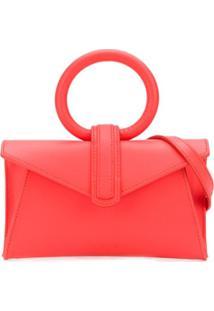 Complét Valery Rectangular-Shaped Tote Bag - Vermelho