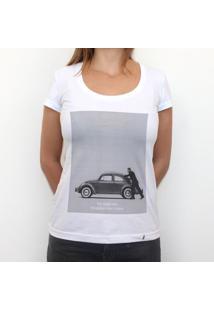 Uno Fusquita E Uno Violon - Camiseta Clássica Feminina