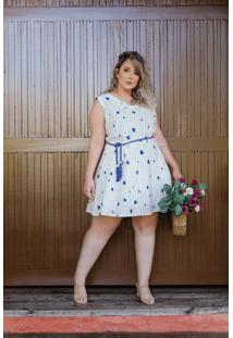 Vestido Curto Stella Plus Size Domenica Solazzo