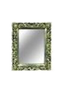 Espelho Provençal Decorativo Dourado 56,5X82X4Cm