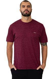... Camiseta Baiki Badhai Viscose Mescla Vinho 510fcb2a5e962