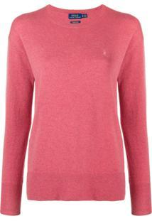 Farfetch. Polo Ralph Lauren Suéter Com Logo - Vermelho 7c176dca303