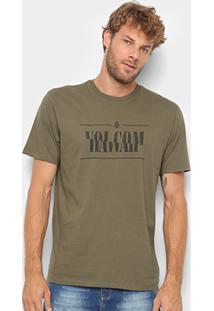 Camiseta Volcom Silk Melt - Masculina - Masculino