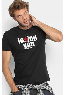 Camiseta Ellus 2Nd Floor Loving You Masculina - Masculino