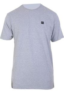 Camiseta Oakley Patch 2.0 Tee - Masculino-Cinza