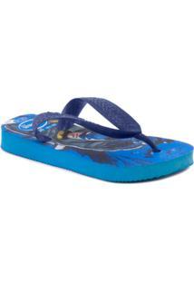 Sandália Havaianas Herois - Masculino-Azul Turquesa+Marinho