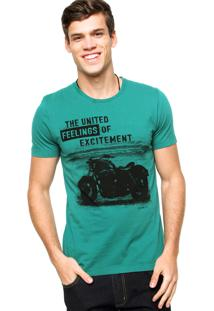 Camiseta Sommer Excitement Verde