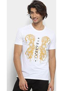 Camiseta Zoomp Strong Together Masculina - Masculino-Branco