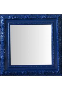 Espelho Moldura Rococó Externo 16353 Azul Art Shop
