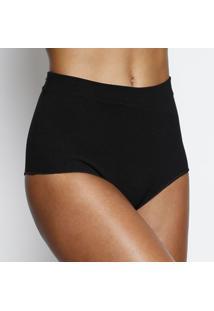 Calcinha Hot Pant Texturizado- Pretajohn John