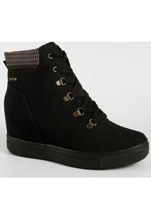 Tênis Feminino Chunky Sneaker Flatform Cano Alto Dakota