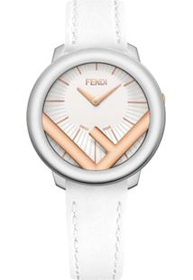 Fendi Run Away 28Mm Watch - Branco