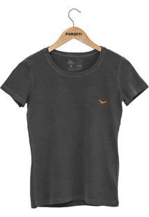 Camiseta Forseti Estonada F-Basic Chumbo