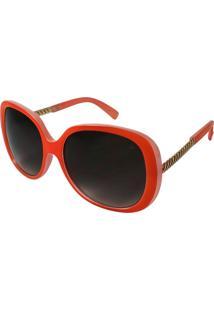 Óculos De Sol Sun John Laiza Tangerina