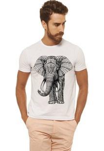 Camiseta Joss - Elefante - Masculina - Masculino-Branco